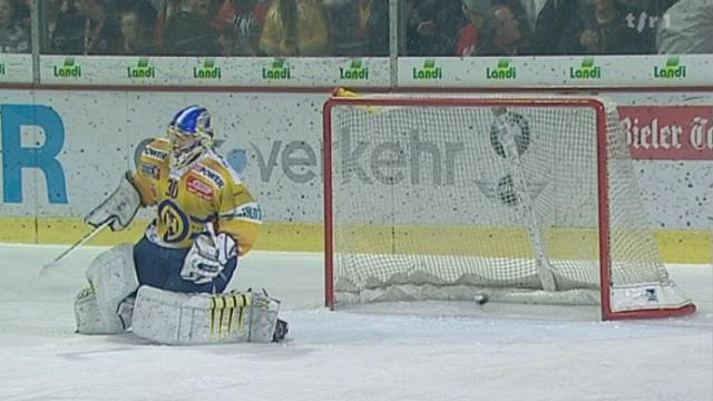 Hockey / LNA: retour sur le duel à distance entre Bienne et Genève-Servette de samedi soir