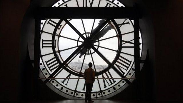 Horloge géante du Musée d'Orsay.