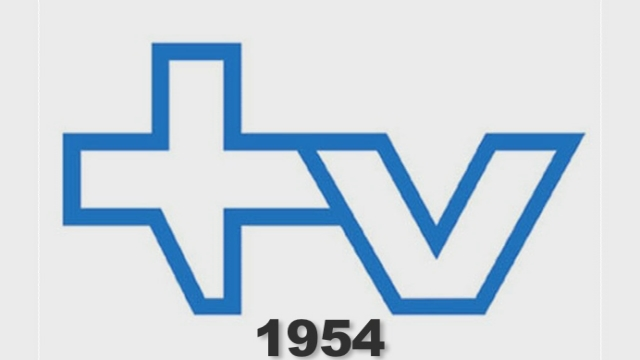 L'évolution des logos depuis 1954