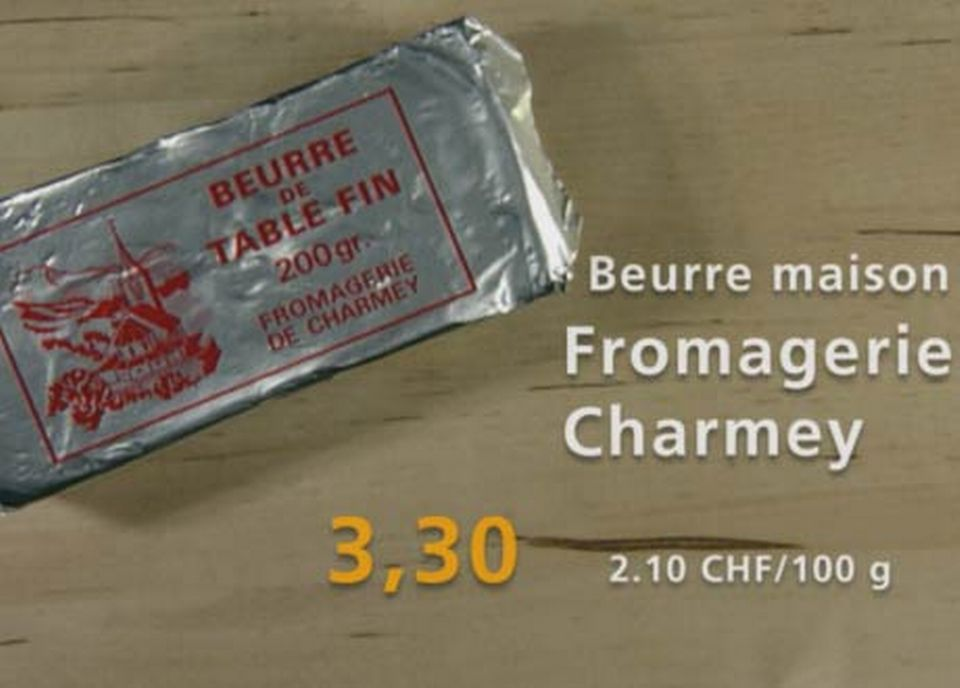 Fromagerie Charmey [RTS]