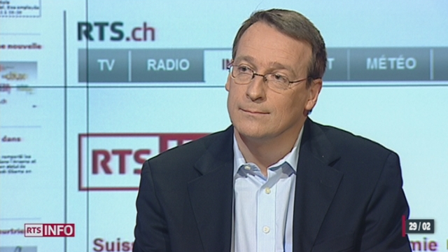 Lancement du nouveau site d'information de la Radio Télévision Suisse: les explications de Nicolas Roulin, responsable de la Rédaction de l'info en continu