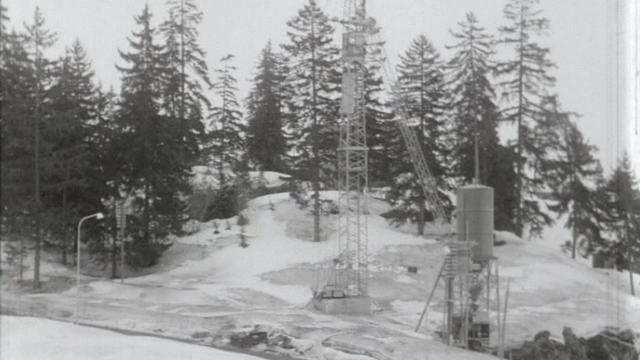 A Crans-Montana en 1970. [RTS]