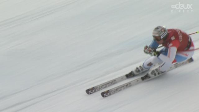 Kvitfjell (NOR). C'est le tour des Suisses: Beat Feuz (21) 3e chrono; Didier Cuche (22) 5e