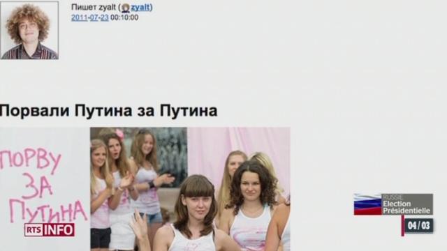Elections présidentielles russes : la campagne électorale s'est aussi jouée sur les réseaux sociaux