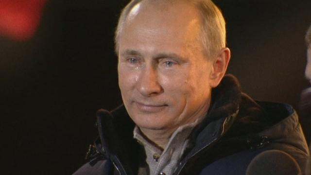 Séquences choisies - Poutine remercie ses partisans