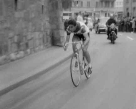Course cycliste A travers Lausanne 1967