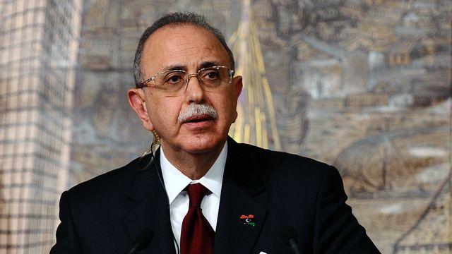 Abdel Rahim al-Kib, premier ministre libyen. [Mustafa Ozer. - AFP]