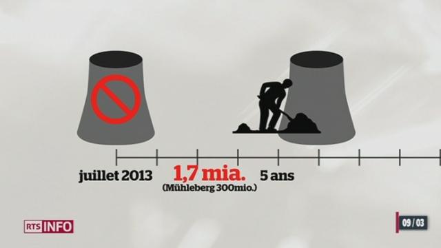 La fermeture de la centrale nucléaire de Mühleberg doit être hâtée selon le Tribunal administratif fédéral