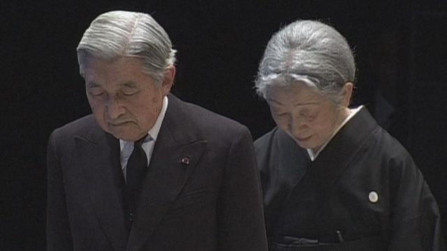 Séquences choisies - Hommage aux victimes du 11 mars au Japon