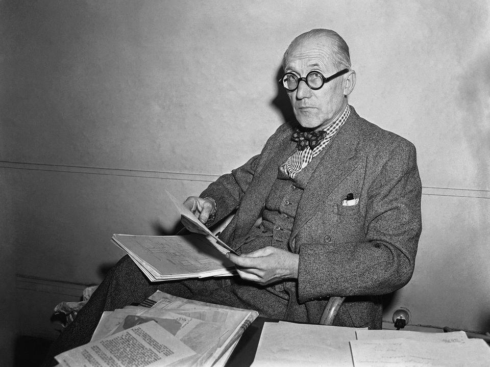 L'architecte suisse Le Corbusier en 1949. [AP Photo /Keystone]