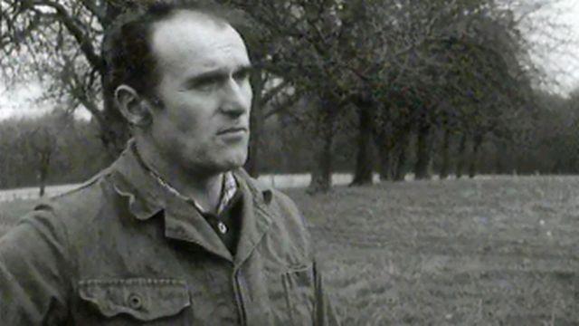 Denis Prêtre, agriculteur en Ajoie. entre Suisse et France. [RTS]