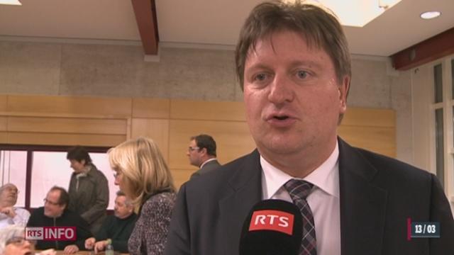 VD/Election du Conseil d'Etat: les radicaux et les libéraux restent fidèles à l'UDC Claude-Alain Voiblet pour le deuxième tour