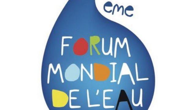 Logo du forum mondial de l'eau. Marseille, 2012. [worldwaterforum6.org]