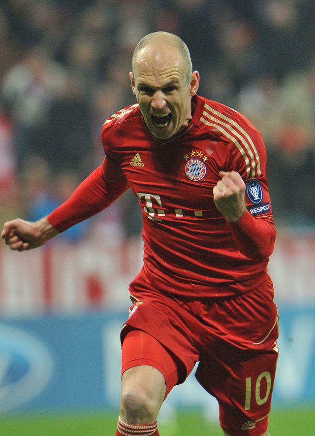 Arjen Robben a  placé le Bayern sur les bons rails avant de sceller le score.  [Arjen Robben  - Keystone]
