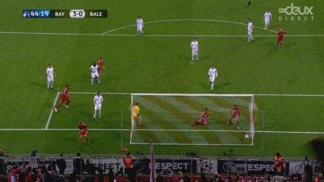 (1/8 de finale, retour): Bayern - FC Bâle. Le calice jusqu'à la lie... Gomez 3-0 (44e)