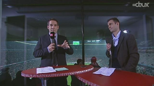 (1/8 de finale, retour): Bayern - FC Bâle. Les principales actions de la 1re mi-temps (3-0)