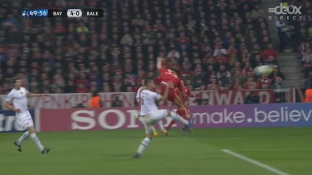 (1/8 de finale, retour): Bayern - FC Bâle. 4-0 par Gomez (50e)