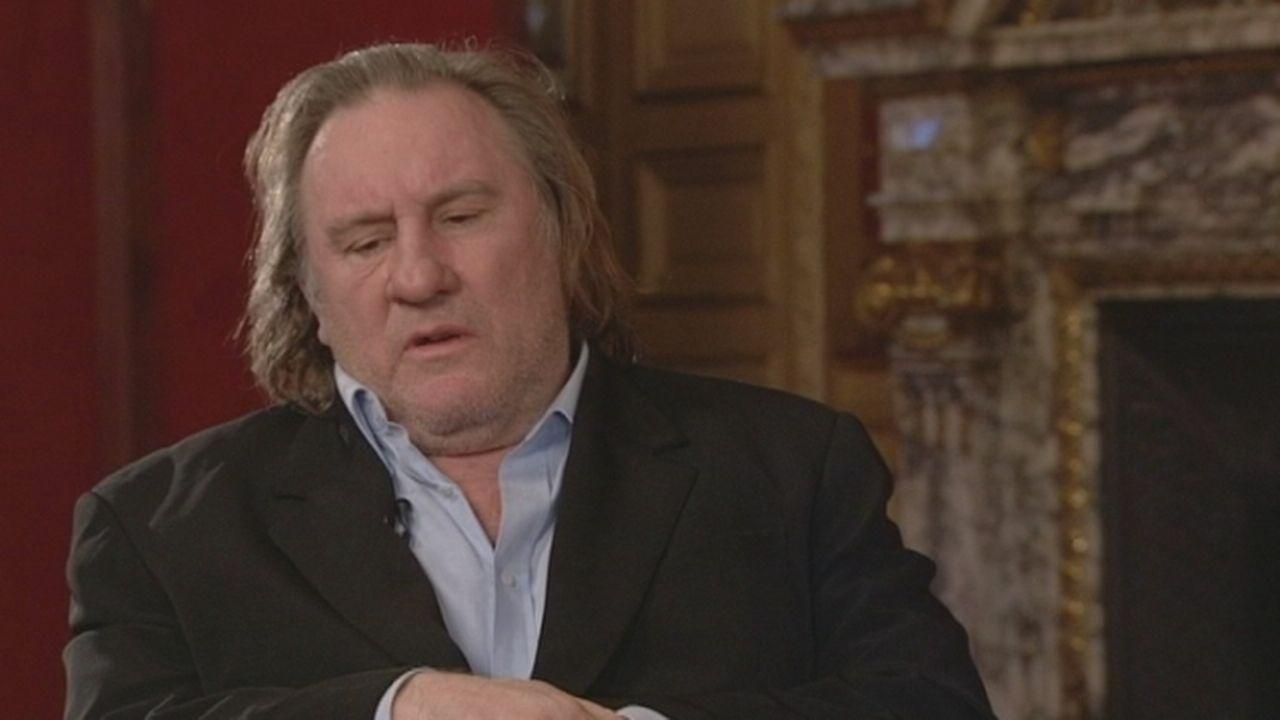"""Interview de Gérard Depardieu: """"Je vais jouer Strauss-Kahn parce que je ne l'aime pas"""""""