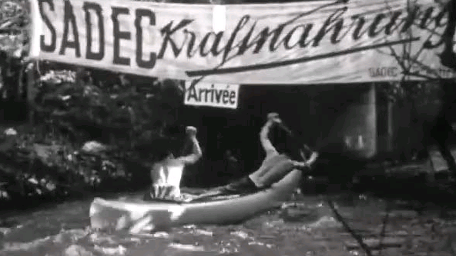 Le derby de la Versoix en 1956. [RTS]