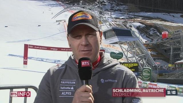 Ski alpin / Super-G de Schladming (Autriche): entretien avec Didier Cuche