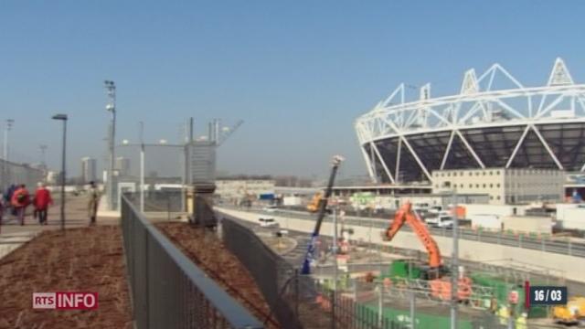 Jeux olympiques 2012 : le village olymique commence à ouvrir ses portes à Londres