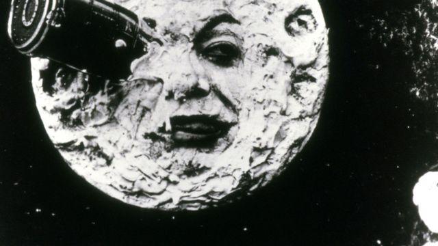 """George Méliès """"Le Voyage dans la lune"""". [Photo12.com - Collection Cinema]"""