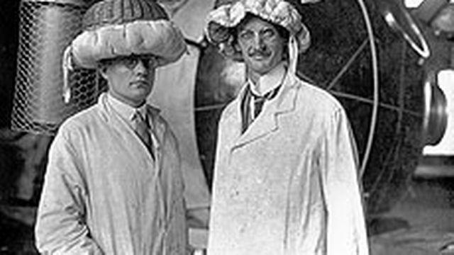 Auguste Piccard et Paul Kipfer [Wiki Commons]