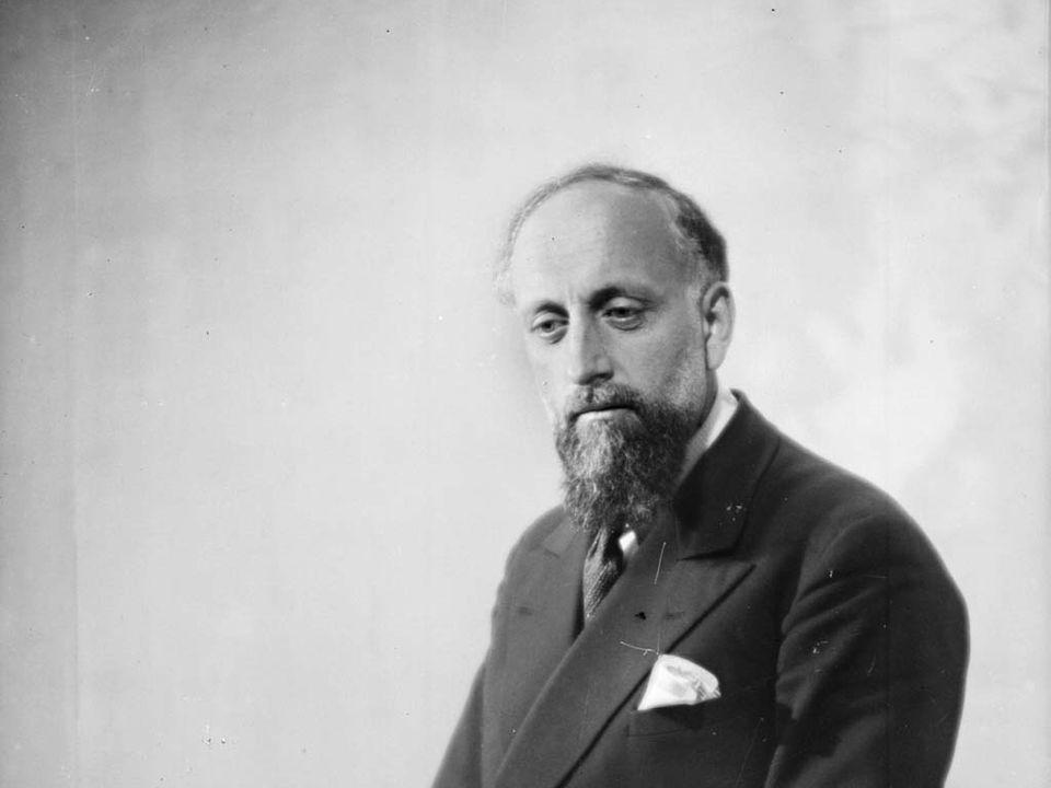 Le chef Ernest Ansermet (1883-1969), en juin 1939. [Roger Viollet - AFP]