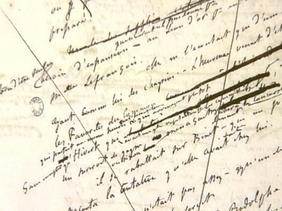 Manuscrit de Madame Bovary [TSR 2009]