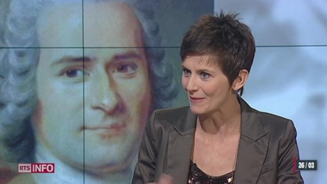RTSdécouverte : Tania Chytil revient sur le personnage de Jean-Jacques Rousseau