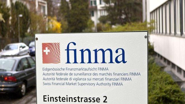 Des  collaborateurs de la FINMA, basés à Berne, seront déplacés à Zurich en 2012. [KEYSTONE/ Martin Ruetschi]