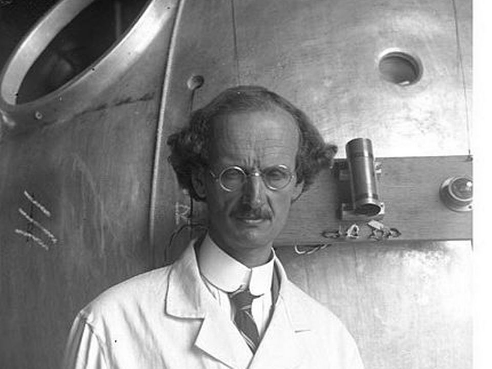 Auguste Piccard. [Wikimedia Commons:Bundesarchiv.]