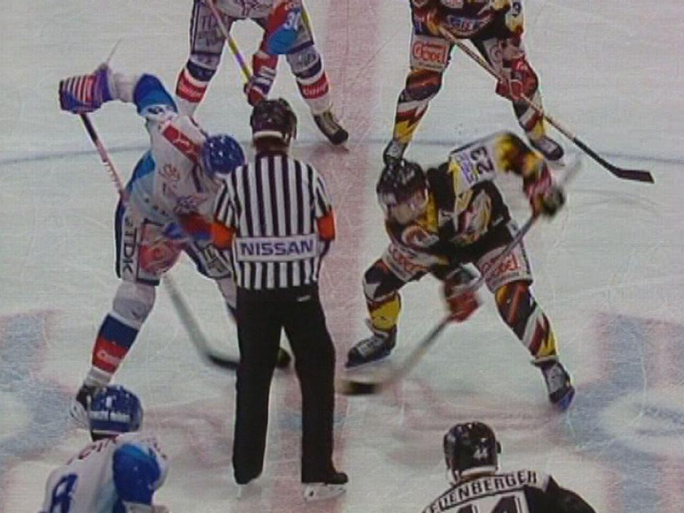 Match Kloten Flyers Fribourg Gottéron. [RTS]