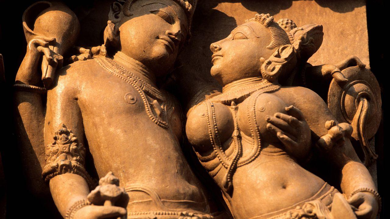 Les temples hindous de Khajuraho célèbre l'amour et la sexualité. [Franck Guiziou  - hemis.fr / AFP]