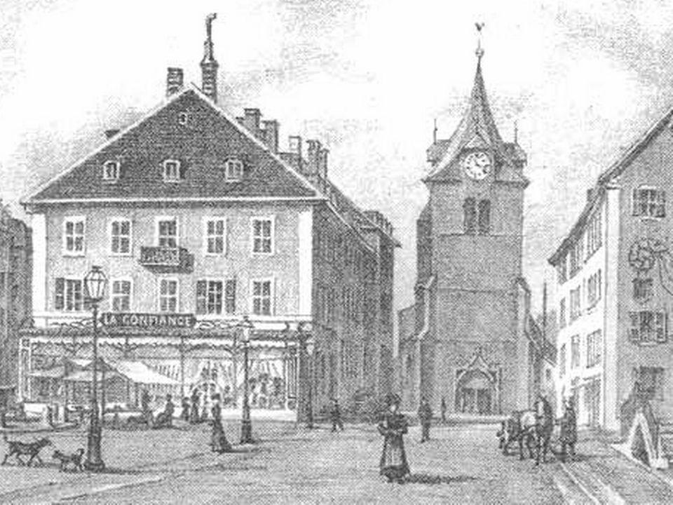 Place du marché du Locle [Site de la ville du Locle]