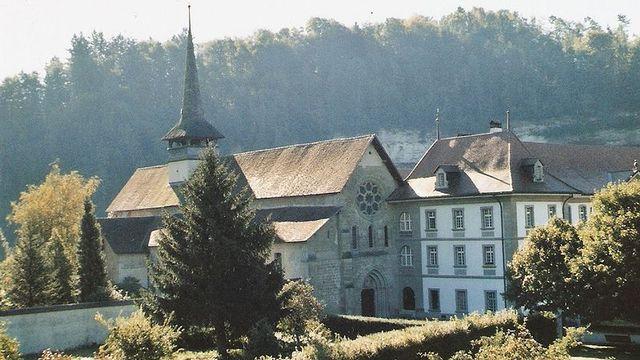L'abbaye d'Hauterive. [Lutz Fischer-Lamprecht - Wikimedia]