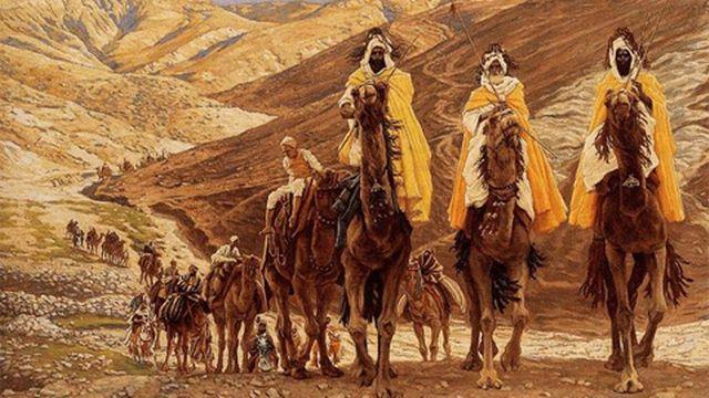 The Journey of the Magi, James Joseph Jacques Tissot (1836 - 1902) [Minneapolis Institute of Arts]