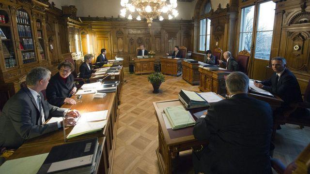 Le gouvernement va se prononcer sans attendre sur l'accord avec l'Allemagne. [Lukas Lehmann - Keystone]