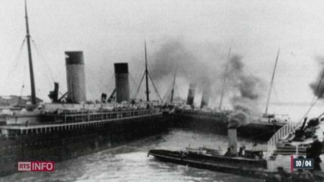 Le Titanic a levé l'ancre il y a exactement 100 ans, le 10 avril 1912