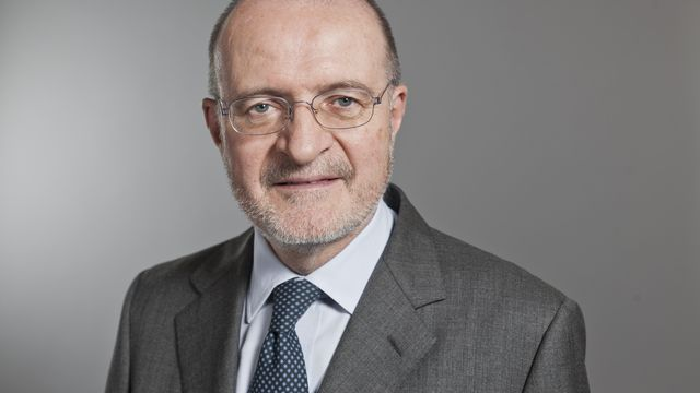 Fulvio Pelli, président du parti libéral-radical suisse. [Gaetan Bally - Keystone]