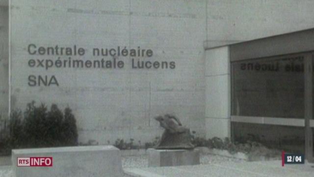 L'ancienne centrale nucléaire de Lucens (VD) fait reparler d'elle quarante ans après l'accident qui a causé sa fermeture