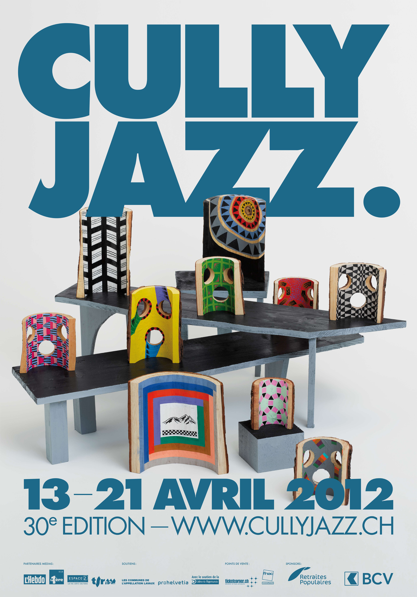 L'affiche de la 30e édition du Cully Jazz.