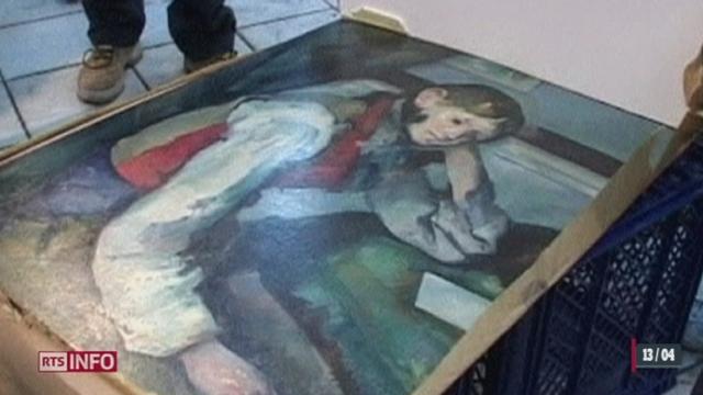 La justice zurichoise a participé à l'opération aboutissant à l'arrestation de quatre suspects dans le cadre du vol d'un tableau de Cézanne