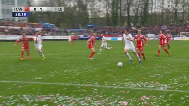 Winterthour-Bâle (0-1): Marco Streller ouvre le score pour le FC Bâle