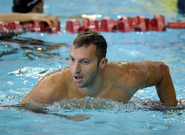 Quintuple champion olympique, Ian Thorpe n'est pas parvenu à composter son billet pour les JO 2012. [Bryan van der Beek - Keystone]