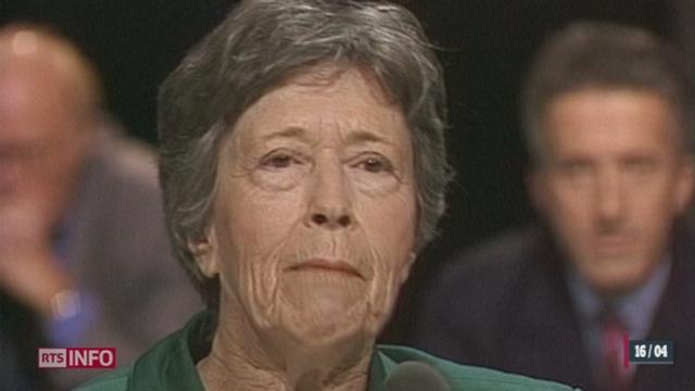 L'écrivaine suisse Yvette Z'Graggen s'est éteinte à l'âge de 92 ans