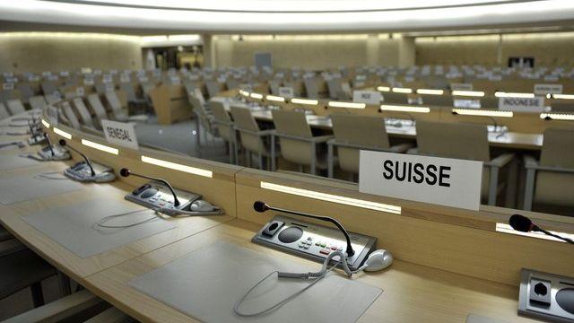 Les votes de la Suisse à l'ONU décortiqués par une équipe universitaire. [Martial Trezzini - Keystone]
