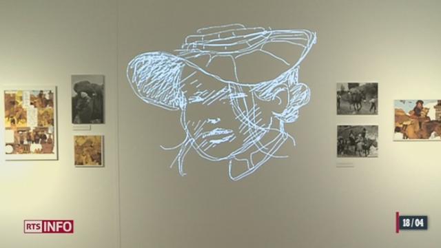 Le minimag (VS) : la médiathèque de Martigny consacre en ce moment une exposition aux images d'archive dont s'est inspiré le dessinateur Cosey
