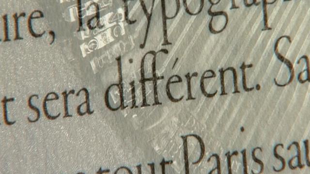 Du livre papier au livre numérique [TSR 2009]