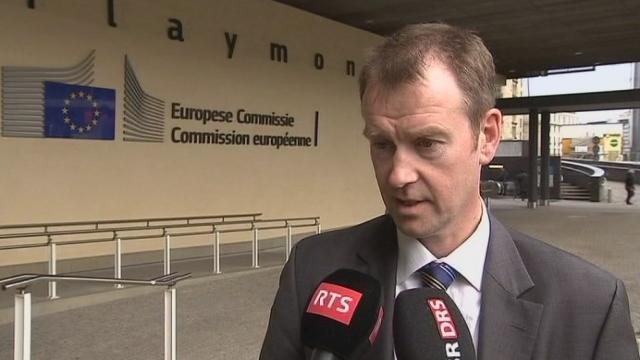 Bruxelles condamne la décision de Berne